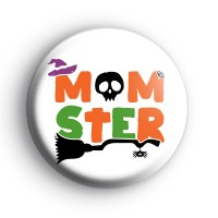 Momster Monster Halloween Badge