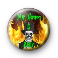 Mr Gloom 2017 badges