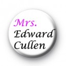 Mrs Edward Cullen Badges