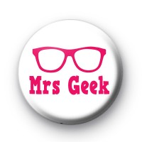 Mrs Geek Badge