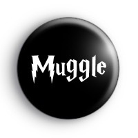 Muggle Harry Potter Button Badge