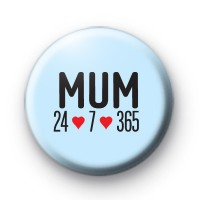 MUM 24 7 badge