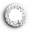 Musical Notes 1 Badge
