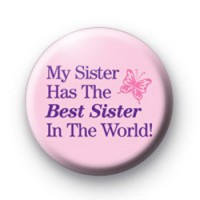 Best Sister in the World Badge