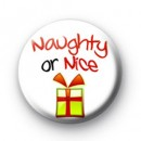 Naughty or Nice badges