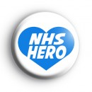 NHS Hero Heart Badge