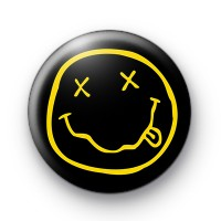 Nirvana Smiley Face Badge