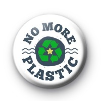 No More Plastic ECO Button Badge thumbnail