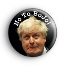 No To BoJo Button Badge