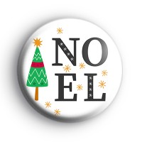 NOEL Xmas Tree Badge
