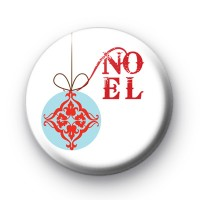 Noel Christmas Bauble Badges