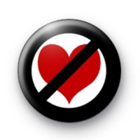 Anti valentines day badge