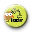 Number 1 Teacher Owl Badges