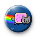 Nyan Cat Badge