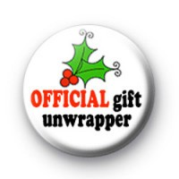 Official gift unwrapper badges