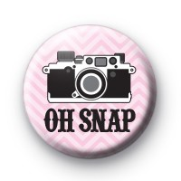 Oh Snap Camera Pink Badges
