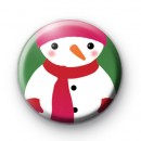 Oh So Cute Snowman Button Badge