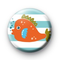 Cute Orange Fish Badges