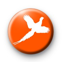 Burnt Orange Pheasant badges