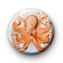 Deep Sea Octopus Badge