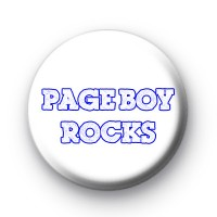 Page Boy Rocks Badge