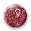 Paisley pattern badge