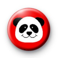 Panda Badge Red