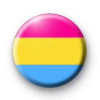 Pansexual Pride Flag Badge