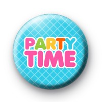 Party Time Birthday Badges