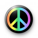 Rainbow Peace Badges