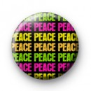 Colourful Peace Galore Badge