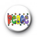Hippie Peace badges