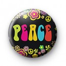 Peace cute badge