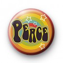 Hippie Peace 1960 badge