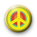 Peace Target Symbol Button Badges