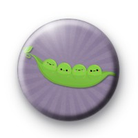 Cute Peas in a Pod Badge