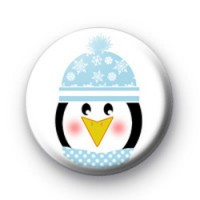Winter Penguin Badges