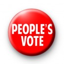 People's Vote Badge