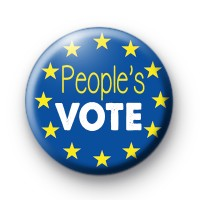 People's Vote EU Flag Badge