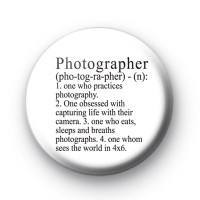 Photographer Button Badges