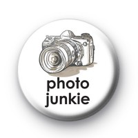 Photo Junkie Button Badges