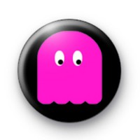 Pink Ghost Badges