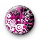 Pink Pattern badges