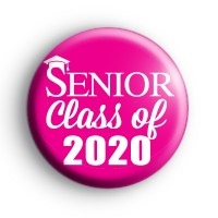 Pink Senior Class of 2020 Badge