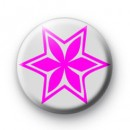 Pink & Grey Flower badges