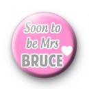 Pink and Grey Soon To Be Mrs badge