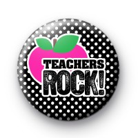 Pink and Black Teachers ROCK badges thumbnail