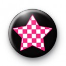 Funky Punk Star Badges