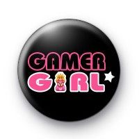 Gamer Girl Princess Badges