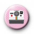 Click Old School Camera badge